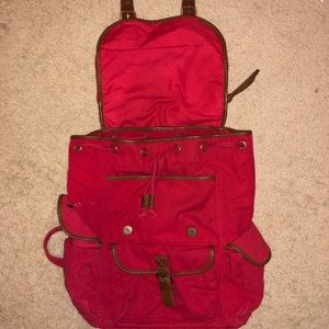 Ecote Bags - Ecote Red Backpack